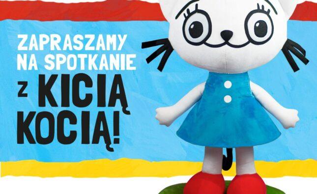 Wyjątkowe spotkanie z bohaterką książek Anity Głowińskiej – Kicią Kocią w Fordonie