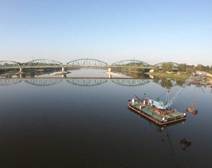 Most w Fordonie odbudowywano trzykrotnie. Poznaj jego historię! [film z drona]