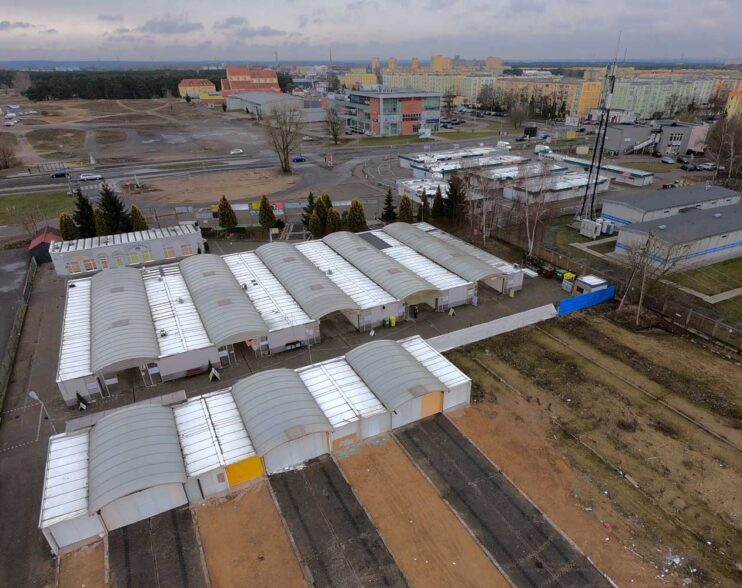 Targowisko Tatrzańskie prawie przestało istnieć. Zobacz film z drona!
