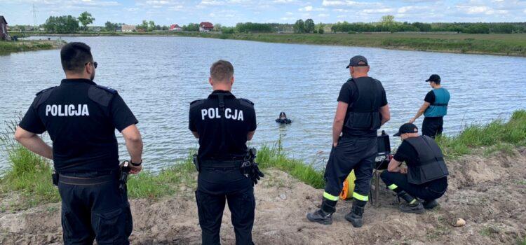 Komunikat policji w sprawie poszukiwań zaginionego Piotra Nowarkiewicza