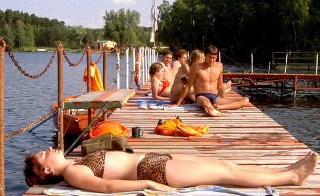Żegnamy plażę w Samociążku